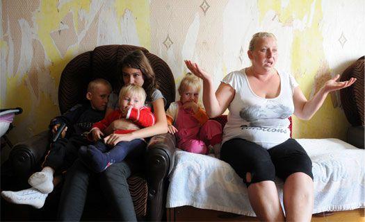 мать одиночка с тремя детьми получить жилье
